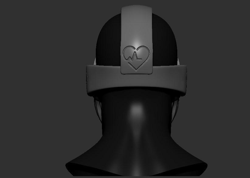 05.jpg Télécharger fichier STL gratuit Verre à masque de quarantaine • Design pour imprimante 3D, PaburoVIII