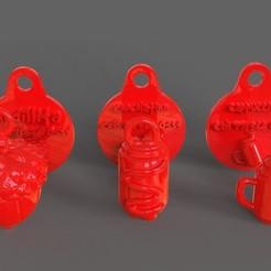 untitled.34.jpg Télécharger fichier STL Combo étiquettes et bijoux pour animaux de compagnie • Modèle à imprimer en 3D, PaburoVIII