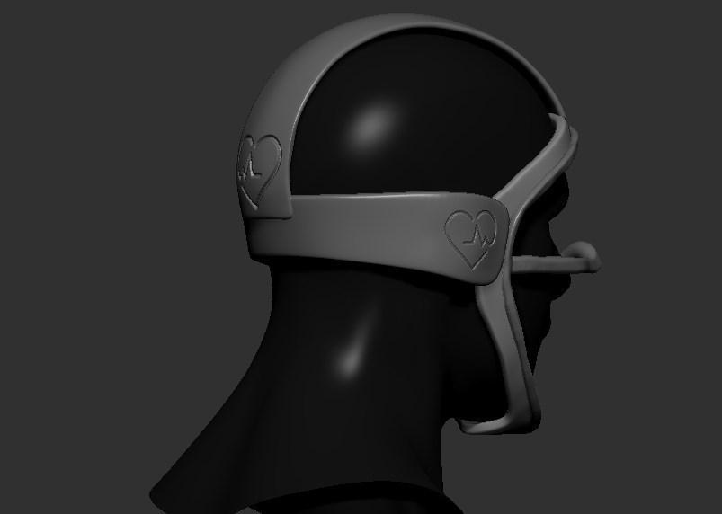 06.jpg Télécharger fichier STL gratuit Verre à masque de quarantaine • Design pour imprimante 3D, PaburoVIII