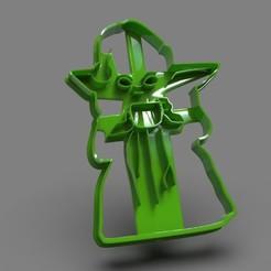 untitled.12.jpg Télécharger fichier STL Bébé Yoda, le corps entier de X-Mas • Modèle à imprimer en 3D, PaburoVIII
