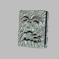 Day 13 01.jpg Download OBJ file Necronomicon Evil Dead Collectible • 3D printing model, PaburoVIII