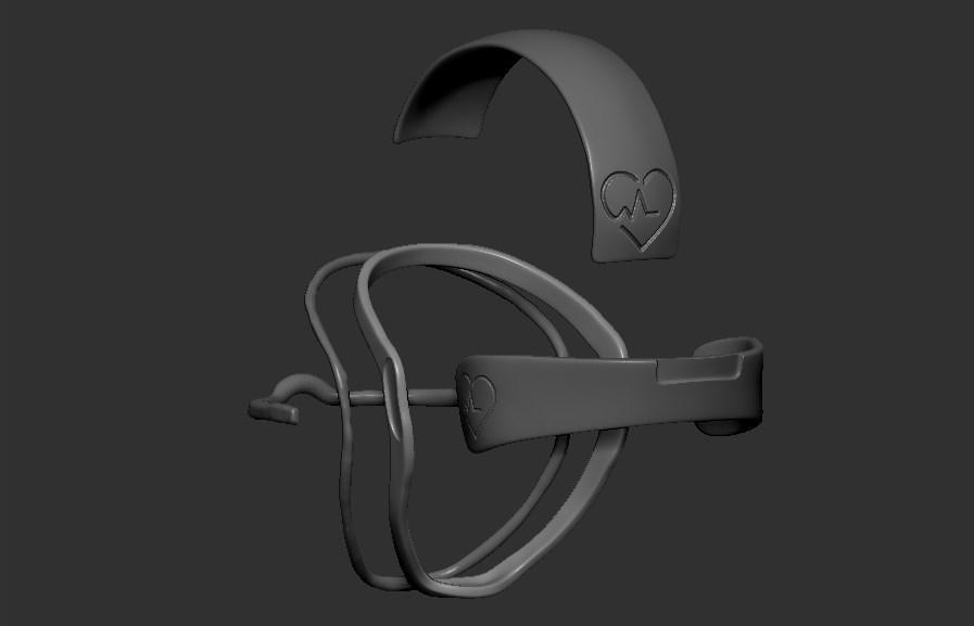 11.jpg Télécharger fichier STL gratuit Verre à masque de quarantaine • Design pour imprimante 3D, PaburoVIII