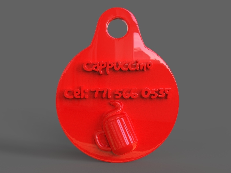untitled.21.jpg Download STL file Pet Tag and Pet Jewelry Combo • Object to 3D print, PaburoVIII