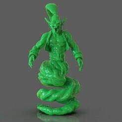 untitled.259.jpg Télécharger fichier OBJ Sculpture du Génie Djinn • Modèle imprimable en 3D, PaburoVIII