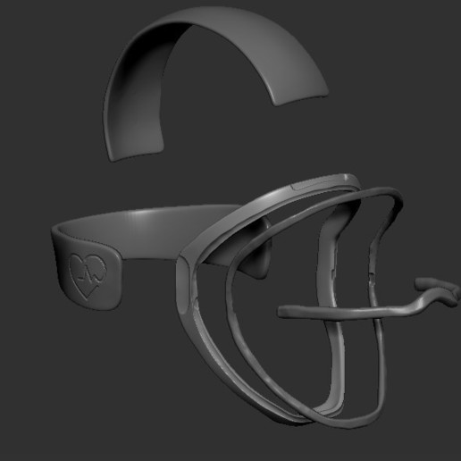 08.jpg Télécharger fichier STL gratuit Verre à masque de quarantaine • Design pour imprimante 3D, PaburoVIII