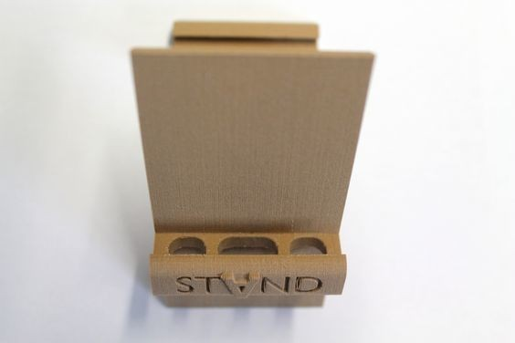 stand2.jpg Download STL file STAND: the different smartphone holder • 3D printable model, MonzaMakers