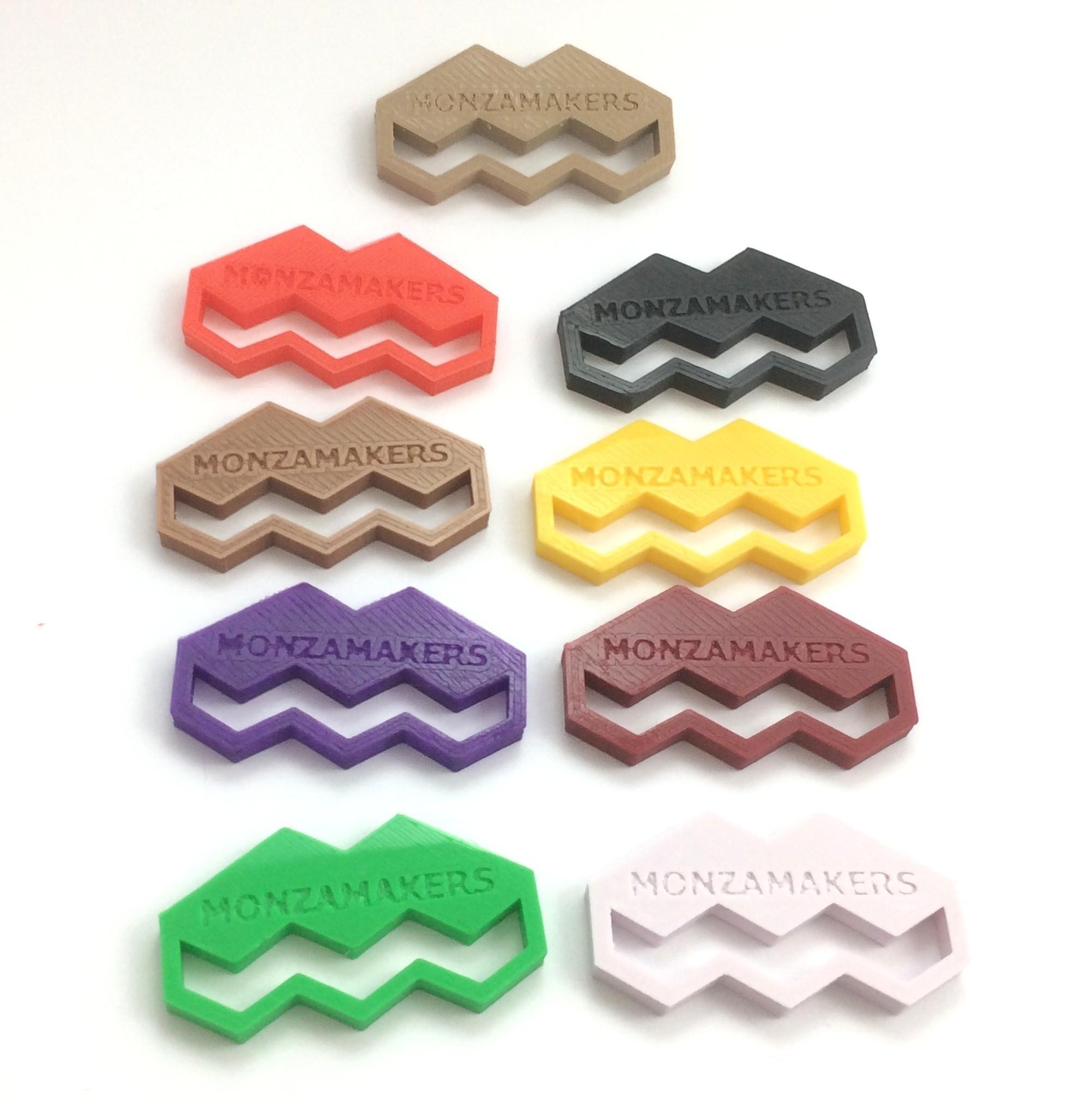 IMG_5587.JPG Download free STL file MonzaMakers Keychain • 3D printing template, MonzaMakers