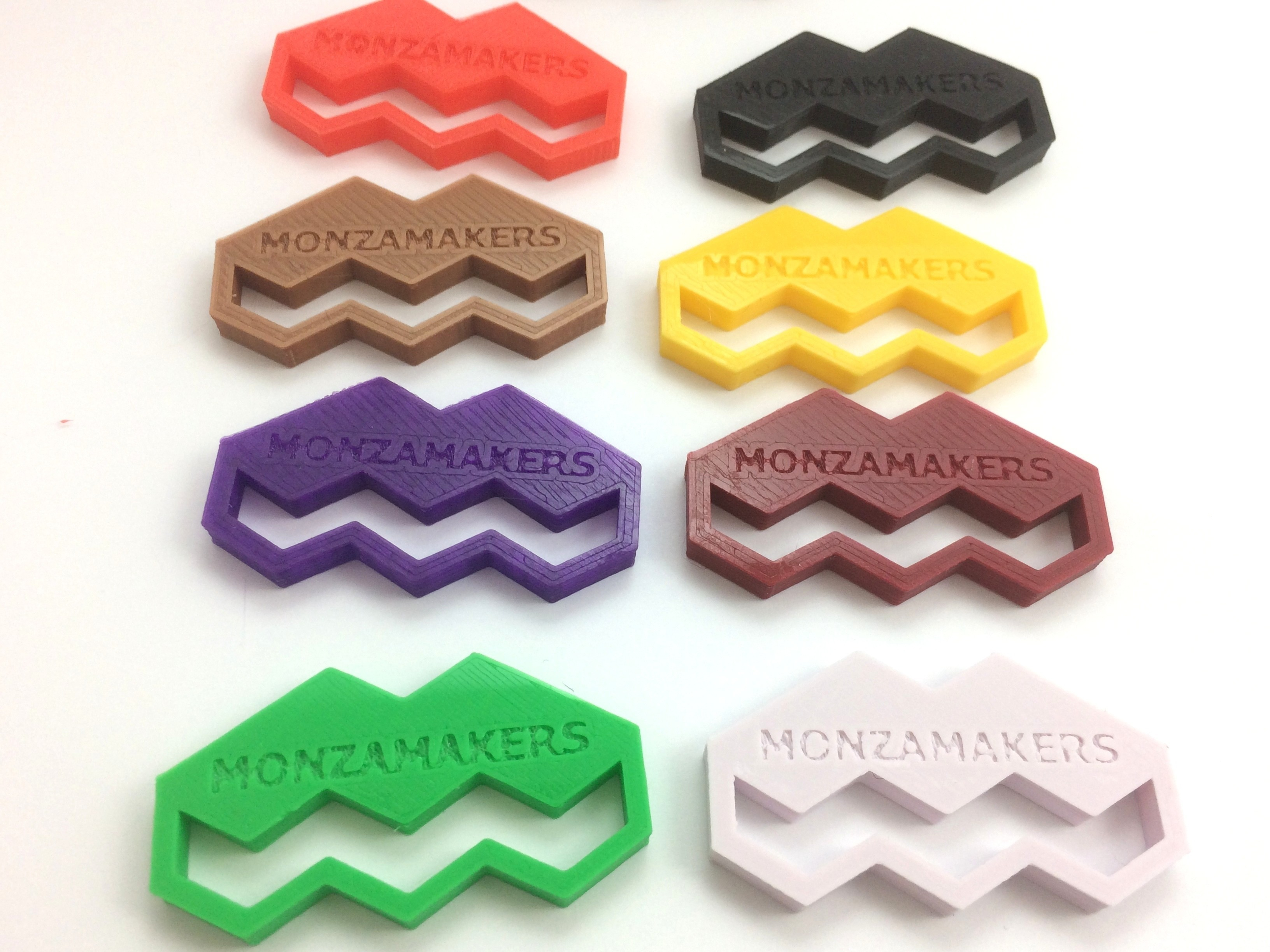 IMG_5588.JPG Download free STL file MonzaMakers Keychain • 3D printing template, MonzaMakers