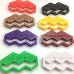 Free 3D printer file MonzaMakers Keychain, MonzaMakers