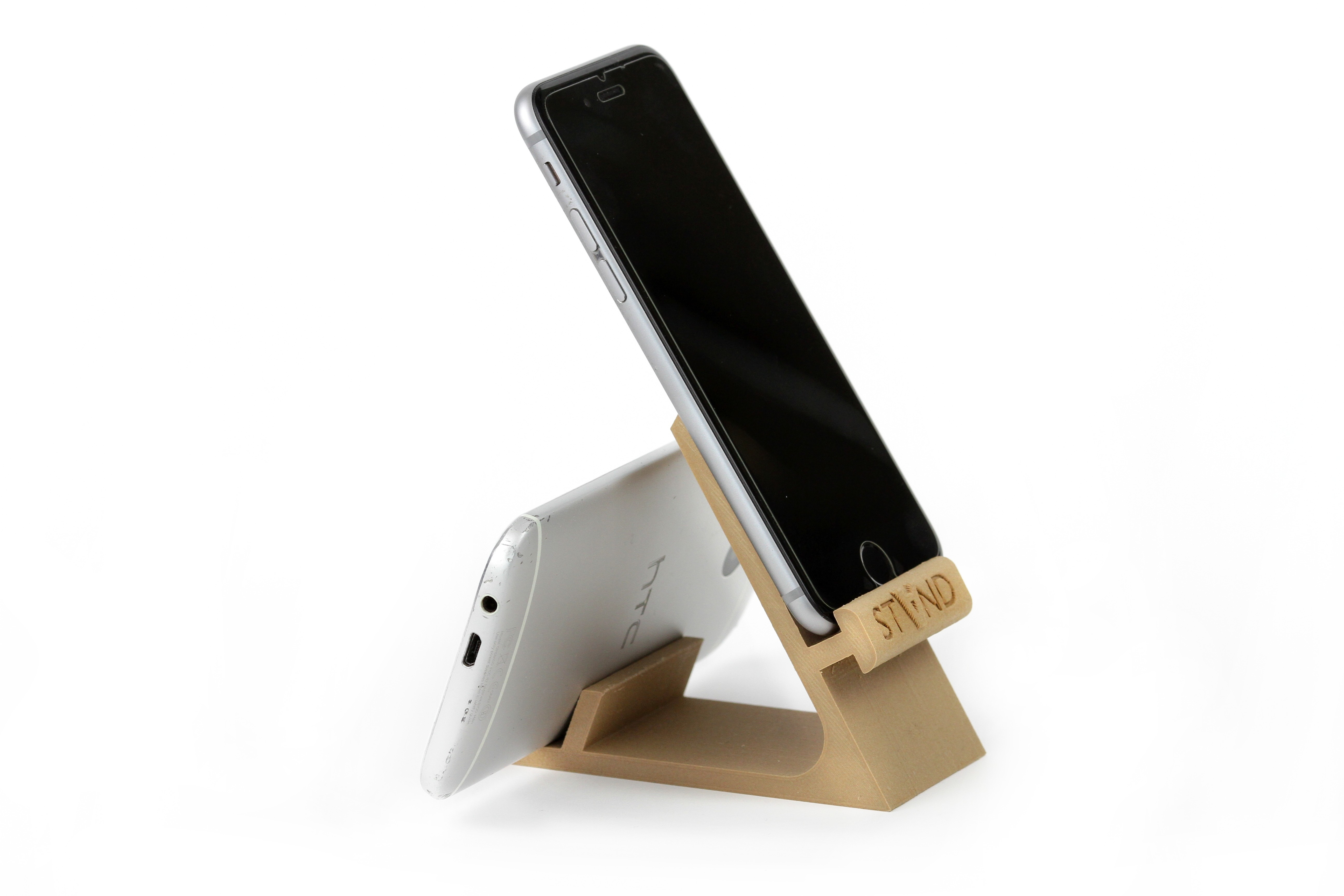IMG_8091.JPG Download STL file STAND: the different smartphone holder • 3D printable model, MonzaMakers