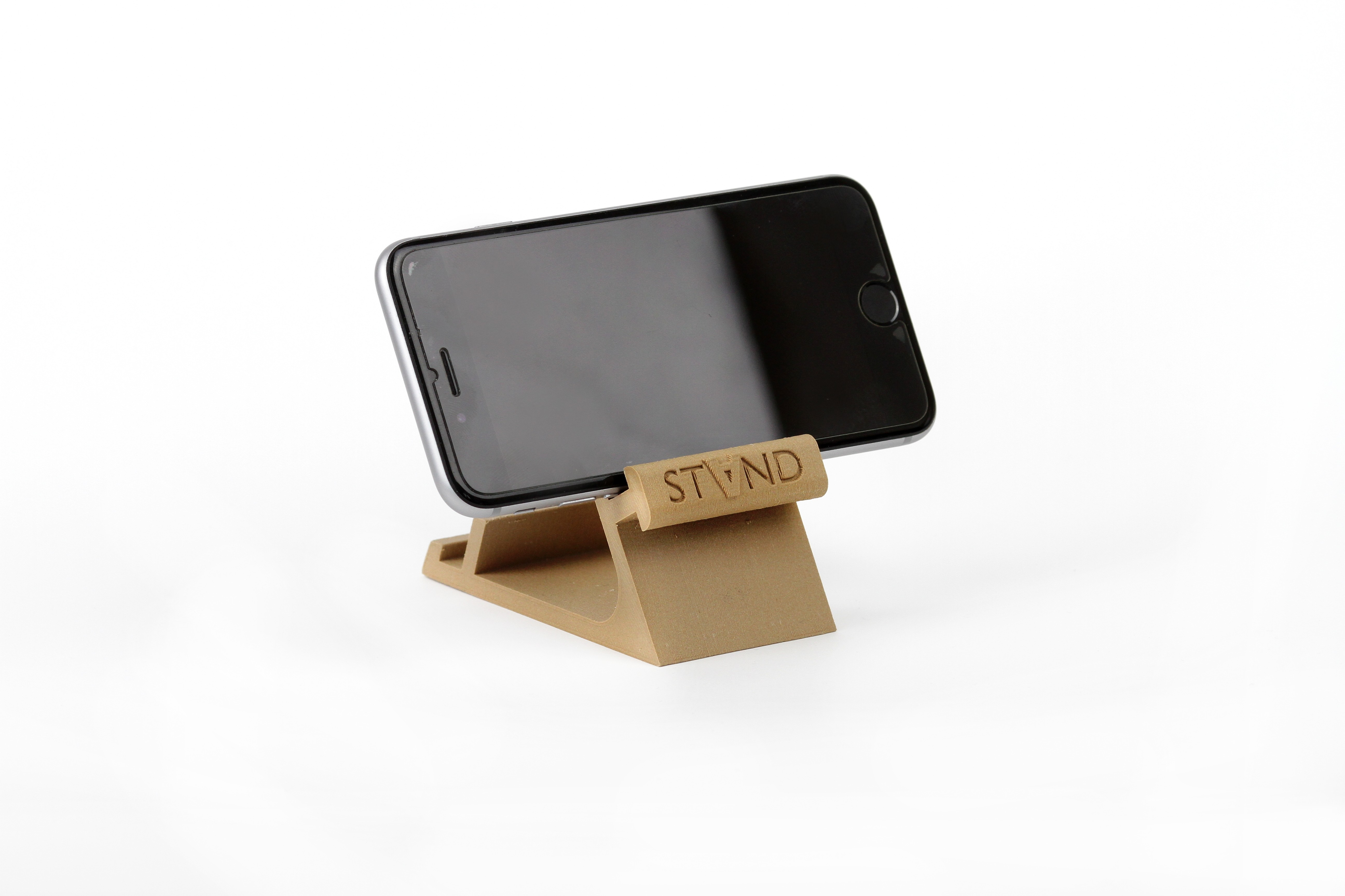 IMG_8090.JPG Download STL file STAND: the different smartphone holder • 3D printable model, MonzaMakers