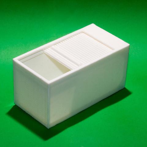 Free 3d printer model Roll-Top Box, Egon