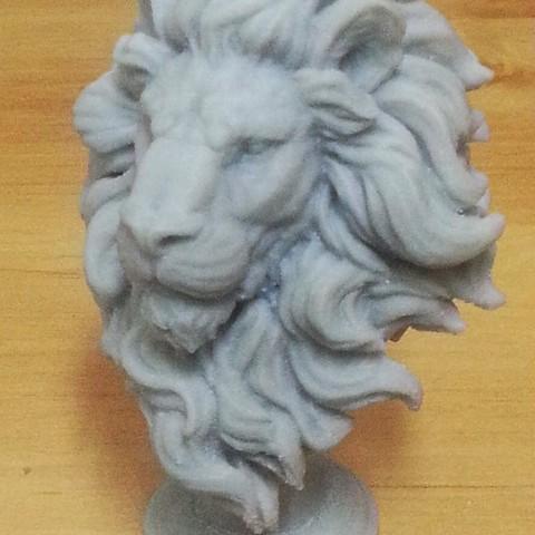 Lion Chess Piece 3D printer file, kfir