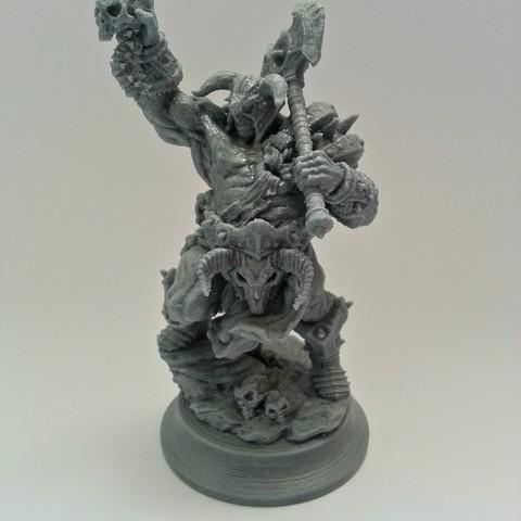 3D printer file Death Taker Sculpture, kfir
