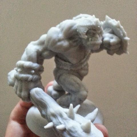 2.jpg Download STL file Grunt War Club, 3D printed Orc • Design to 3D print, kfir