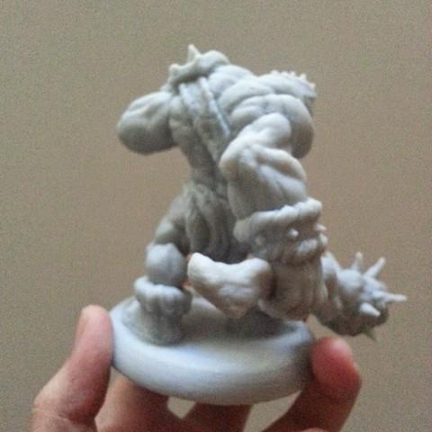 3.jpg Download STL file Grunt War Club, 3D printed Orc • Design to 3D print, kfir