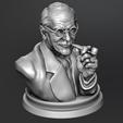 3d printer files Carl Jung Bust, kfir