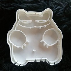 Robert Grizzly cookie cutter 3D model, melowildcat