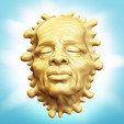 Free 3D file Melt Face, Davision3D
