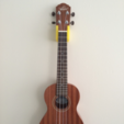 Free 3d printer model Ukulele Wall Mount, CWandT