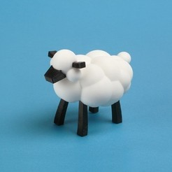Download free 3D printing templates The Sheep, leothemakerprince