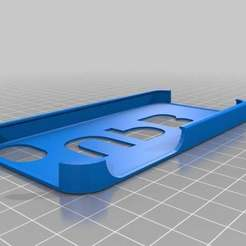 Download free STL file My Customized iPhone Stencil Case • 3D printing model, Theshort