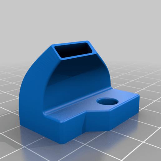tip_left.png Télécharger fichier STL gratuit Refroidissement des bouts de choux de Creality et conduit remplaçable • Modèle pour impression 3D, Theshort