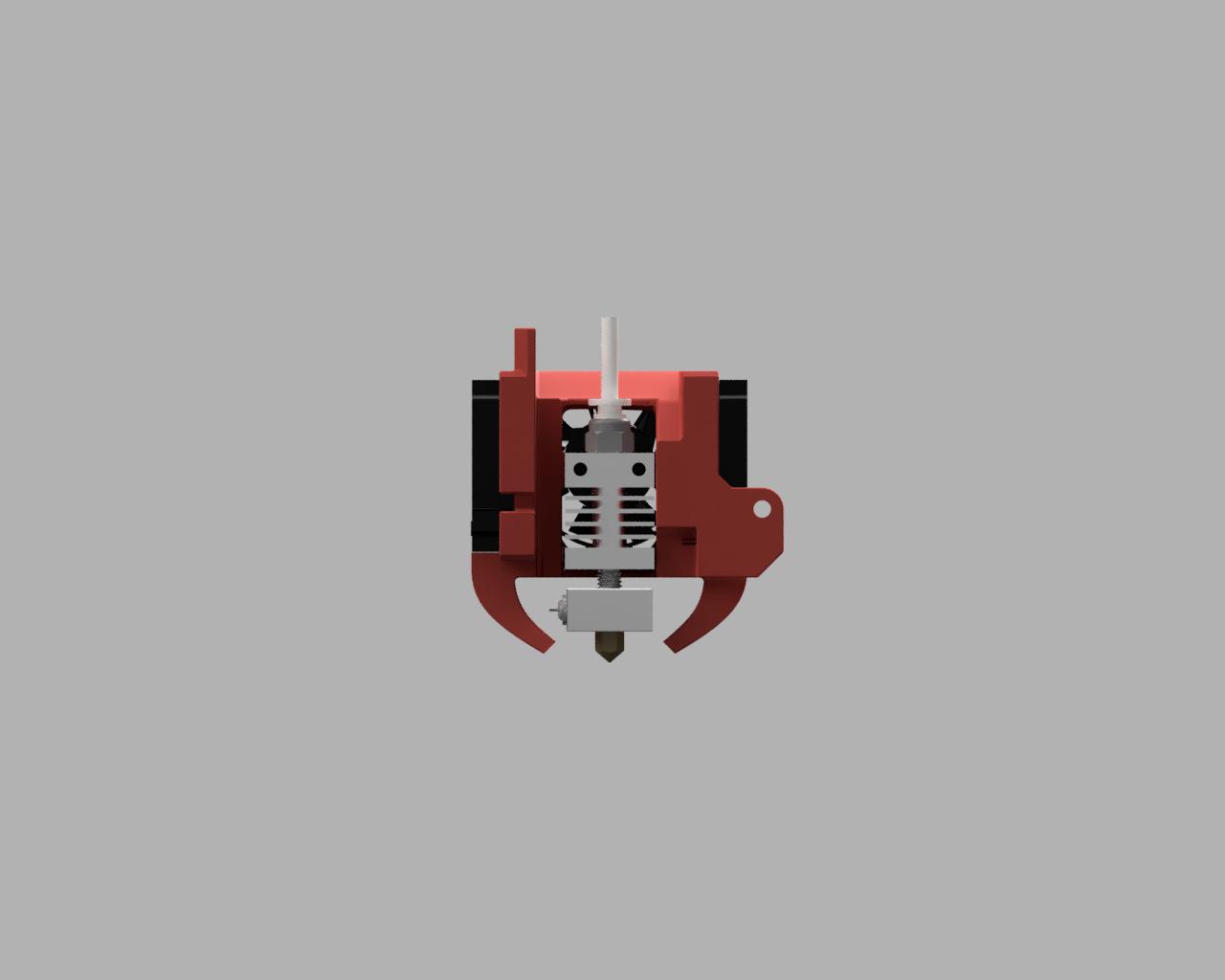Back.PNG Télécharger fichier STL gratuit Refroidissement des bouts de choux de Creality et conduit remplaçable • Modèle pour impression 3D, Theshort