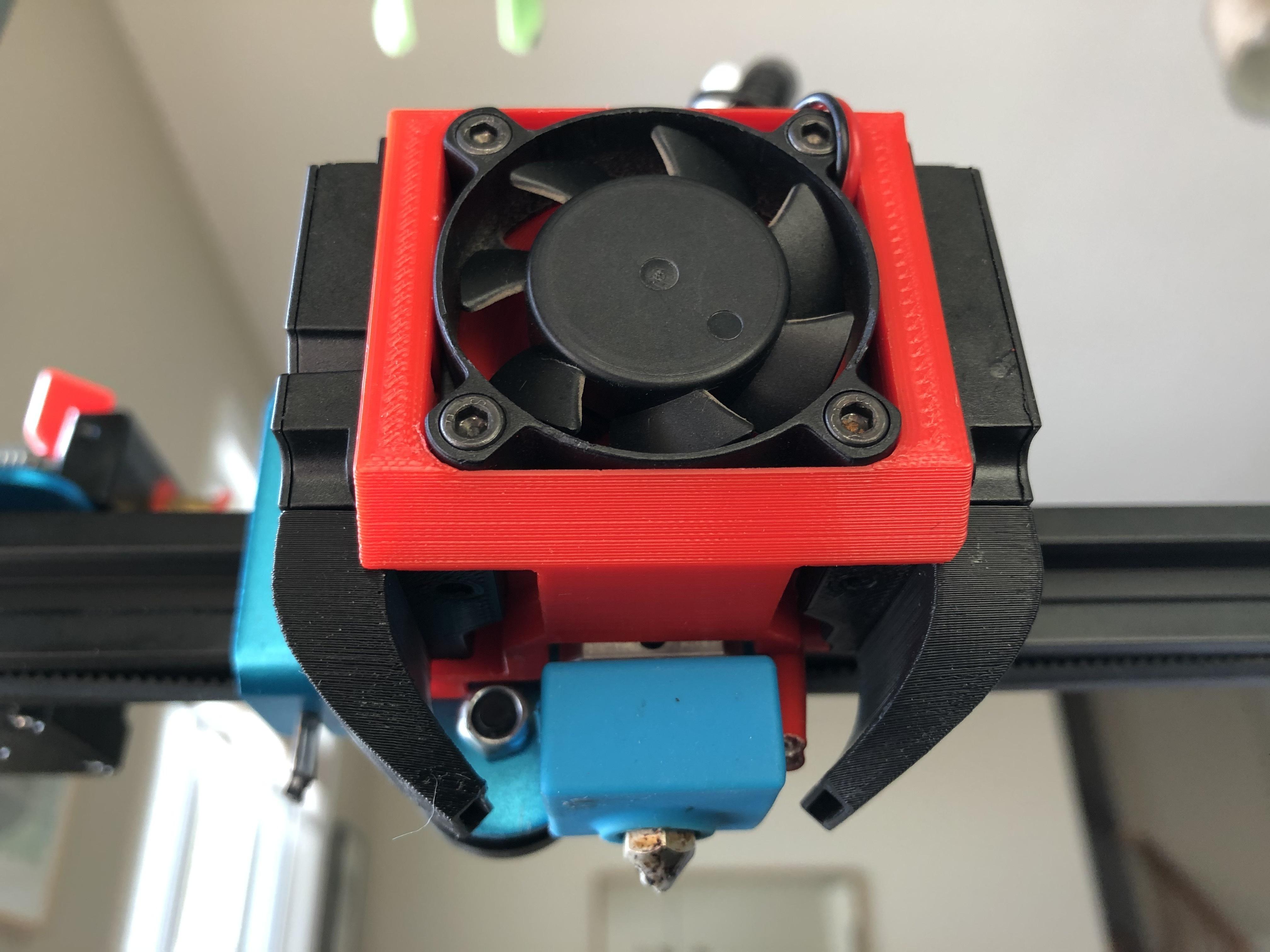 IMG_0020.jpg Télécharger fichier STL gratuit Refroidissement des bouts de choux de Creality et conduit remplaçable • Modèle pour impression 3D, Theshort