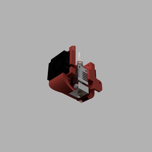 Back_Bottom.PNG Télécharger fichier STL gratuit Refroidissement des bouts de choux de Creality et conduit remplaçable • Modèle pour impression 3D, Theshort