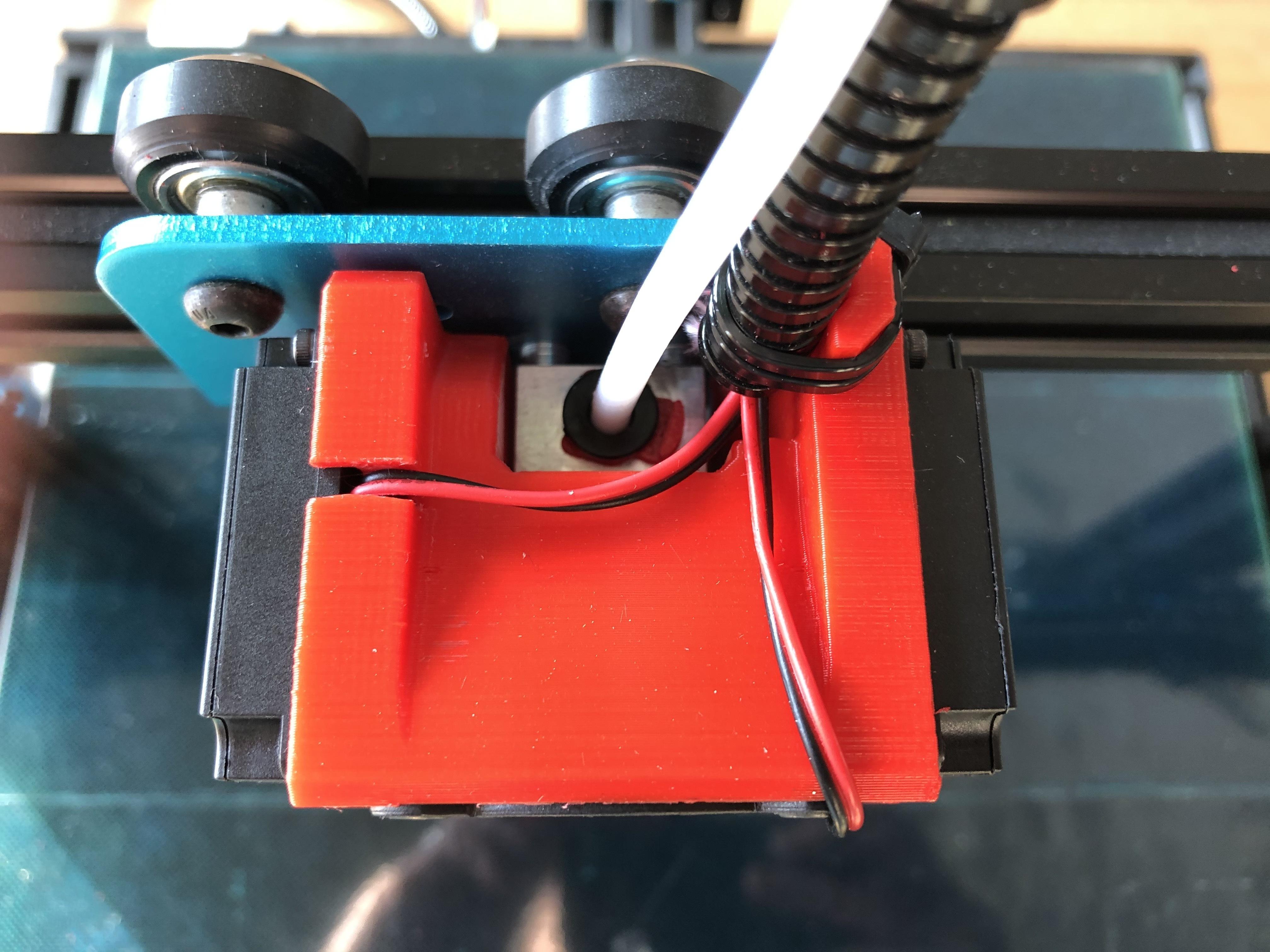IMG_0021.jpg Télécharger fichier STL gratuit Refroidissement des bouts de choux de Creality et conduit remplaçable • Modèle pour impression 3D, Theshort