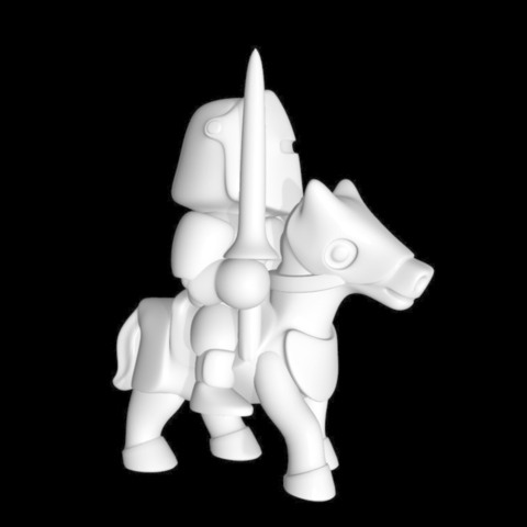 Capture d'écran 2017-10-13 à 15.12.11.png Download free STL file knight riding • Template to 3D print, bs3