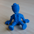 Download free STL file sitting puppet • 3D printing template, bs3