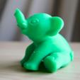 Download free STL file baby mastodon • 3D print object, bs3