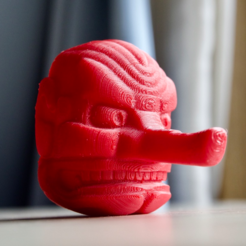 Free 3d printer designs Tengu mask, bs3