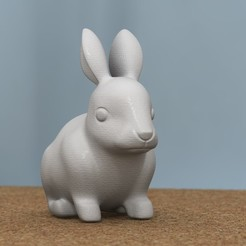 Download 3D printing files rabbit, bs3