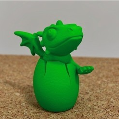 0dd5e4358378a87b2d0731a0db5b87a6_preview_featured.jpg Download free STL file cute dragon hatching • 3D print template, bs3