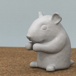 Impresiones 3D hámster, bs3