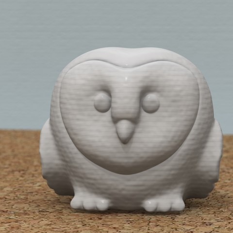 3D print model Lovely Owl, bs3