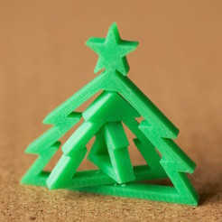 Free 3D print files Christmas tree, bs3