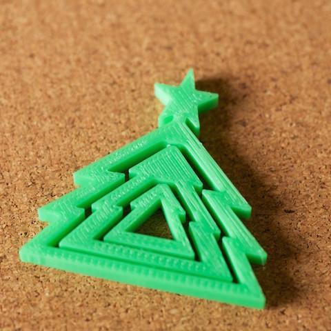 tree01.jpg Download free STL file Christmas tree • 3D printer design, bs3