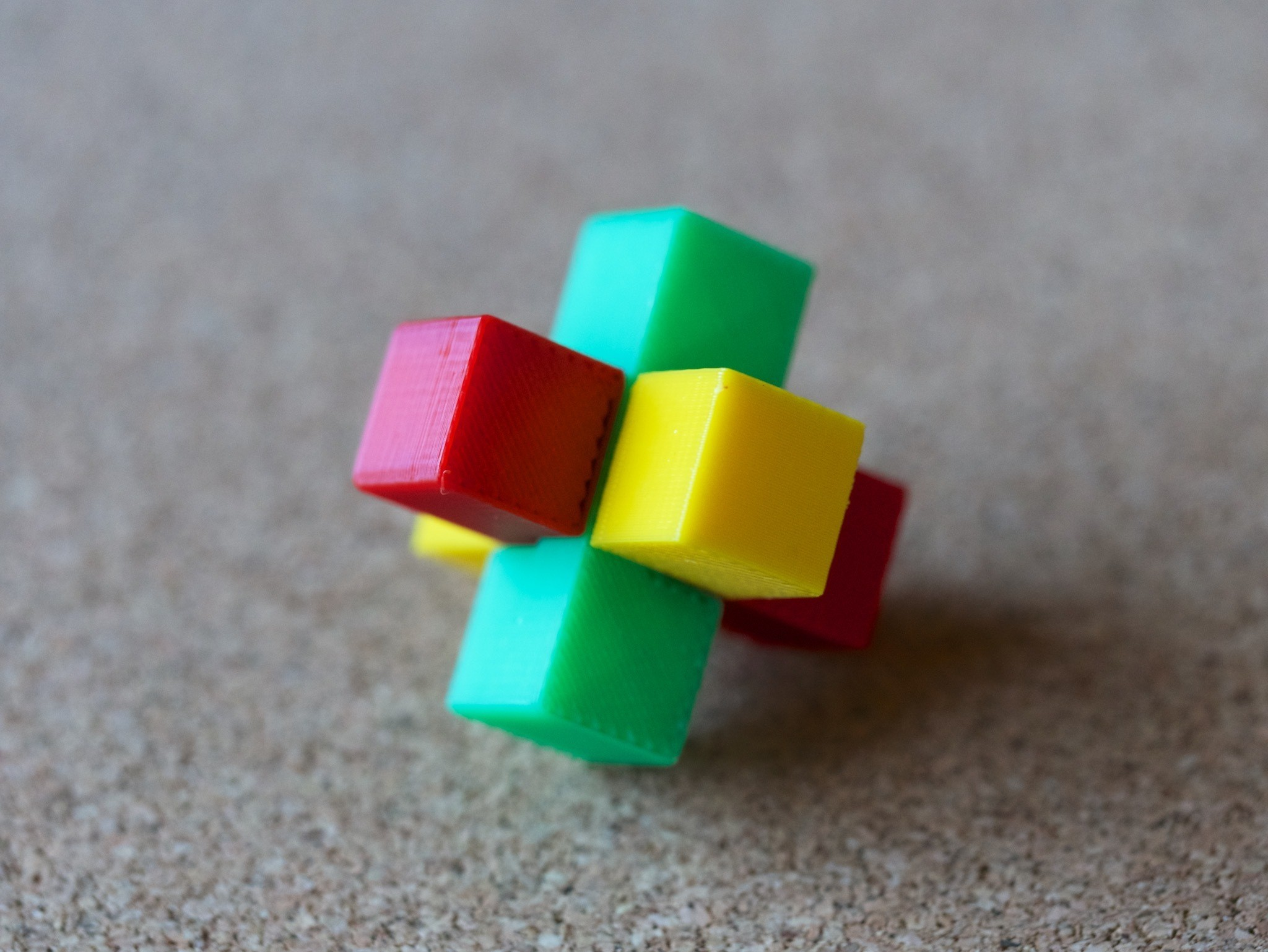 3pzlR_02.jpg Download free STL file 3 piece puzzle (R) • 3D print template, bs3