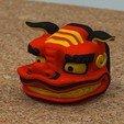 Download STL Shishigashira -Lion Headgear- [COLOR], bs3