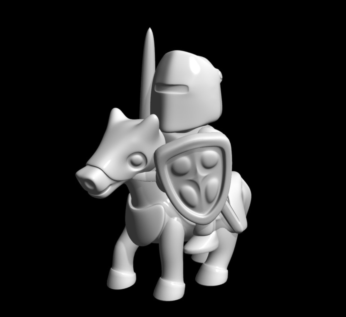 Capture d'écran 2017-10-13 à 15.12.07.png Download free STL file knight riding • Template to 3D print, bs3