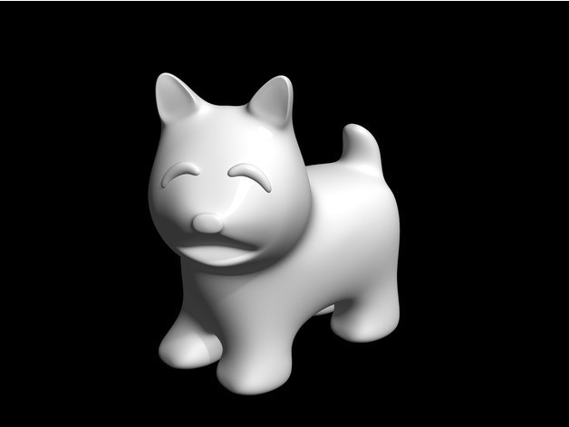 60d0b409d784a52c98055551417167ba_preview_featured.jpg Download free STL file dog • Template to 3D print, bs3