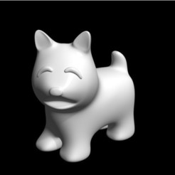 Free 3d printer model dog, bs3