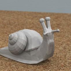 Download free STL file [FREE] snail, bs3