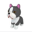 Boston Terrier Free STL 3D Printing 3D model Fichier 3D.png Download free STL file Boston terrier • 3D printer design, bs3