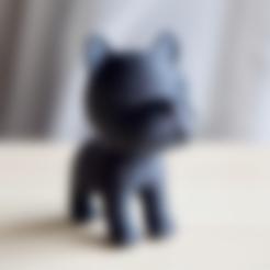 BT_bumpy.stl Download free STL file Boston terrier • 3D printer design, bs3