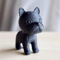 Free 3D printer model Boston terrier, bs3